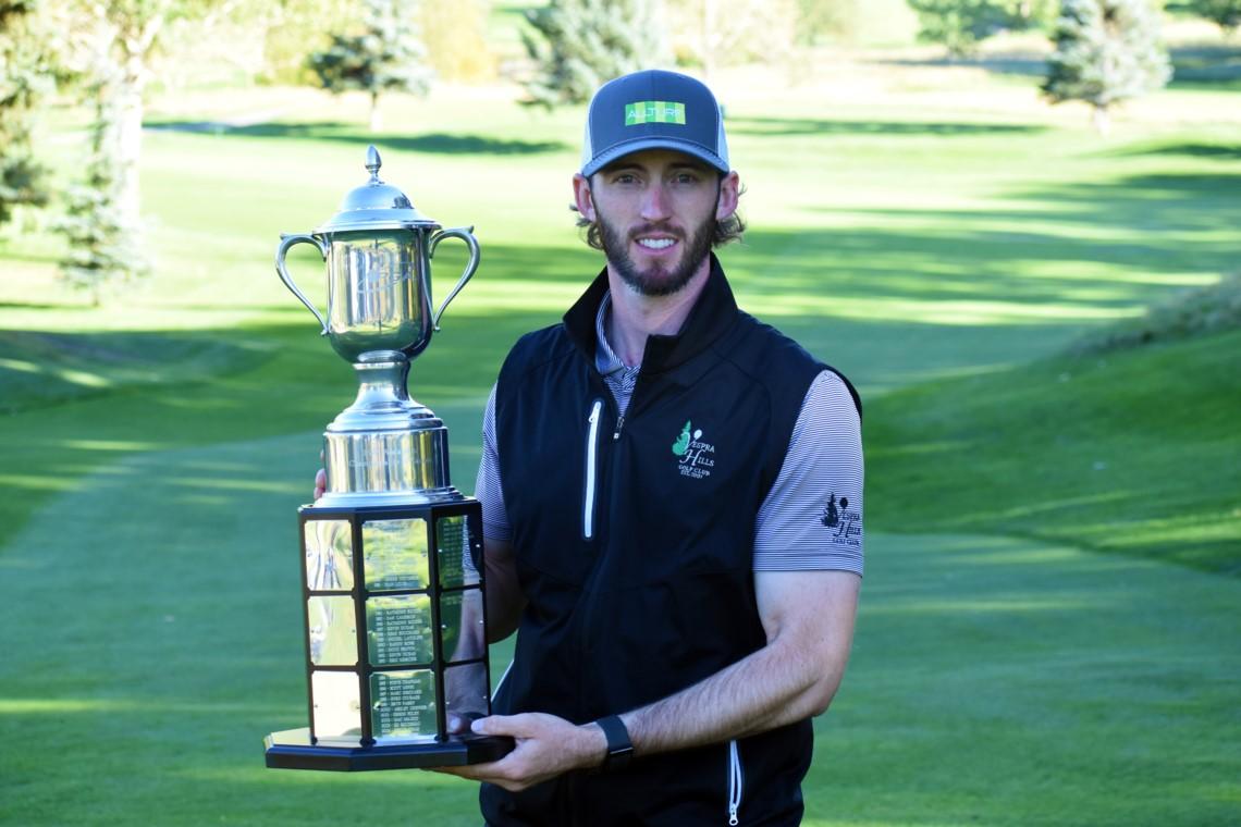 Branson Ferrier remporte le championnat des professionnels adjoints de la PGA du Canada présenté par Callaway Golf par deux coups