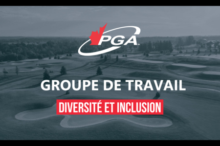 La PGA du Canada forme un groupe de travail sur la diversité et l'inclusion