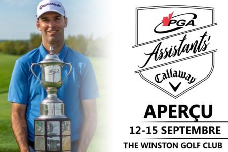 Le Winston Golf Club accueillera le championnat des professionnels adjoints de la PGA du Canada présenté par Callaway Golf