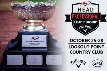 Lookout Point set to host PGA Head Professional Championship of Canada presented by Callaway Golf