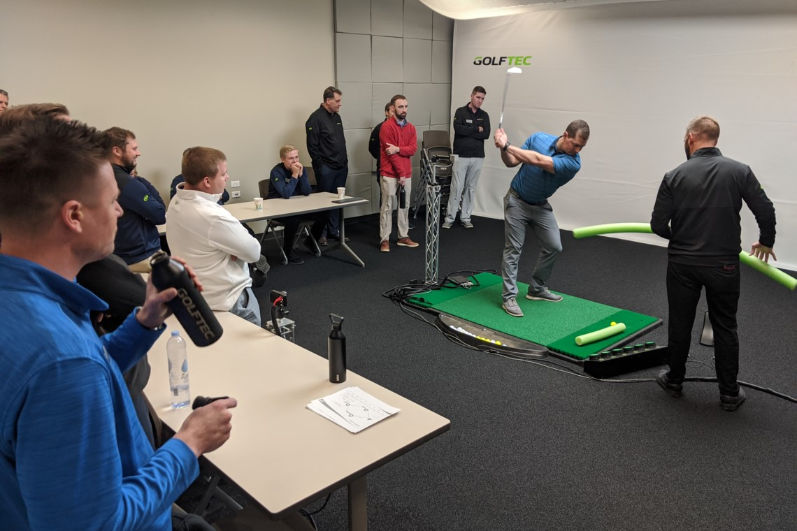 GolfTec a teaching professional's dream
