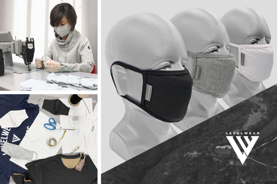Levelwear pivots to produce face masks, supporting local communities and PGA of Canada professionals in the process