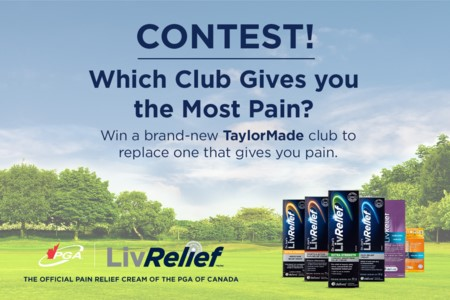 Which club gives you the most pain contest - presented by LivRelief™