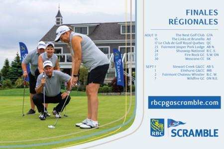 Le Scramble RBC PGA annonce les lieux d'accueil des finales régionales de 2021, ainsi que les mises à jour et les points saillants du programme.