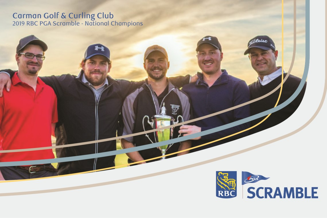 Dean North and Carman, Manitoba team continue to revel RBC PGA Scramble Glory
