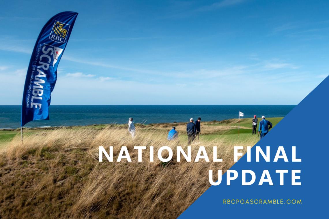 National Final Update