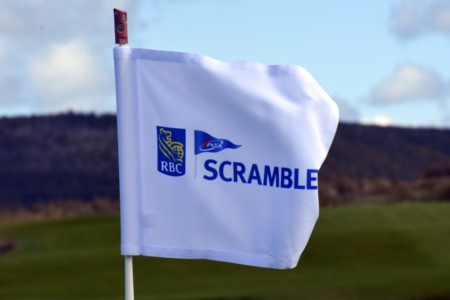 RBC PGA Scramble National Championship Competitors Play Iconic Cabot Cliffs in Gusty Conditions