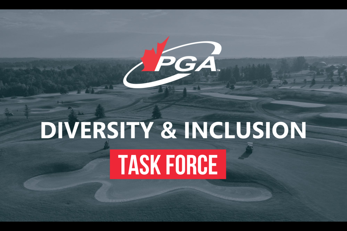 PGA of Canada forms Diversity & Inclusion Task Force