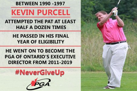 Former PGA of Ontario Executive Director Kevin Purcell's long road through the PAT process