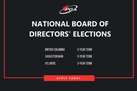 2020 PGA of Canada National Board of Directors' Elections