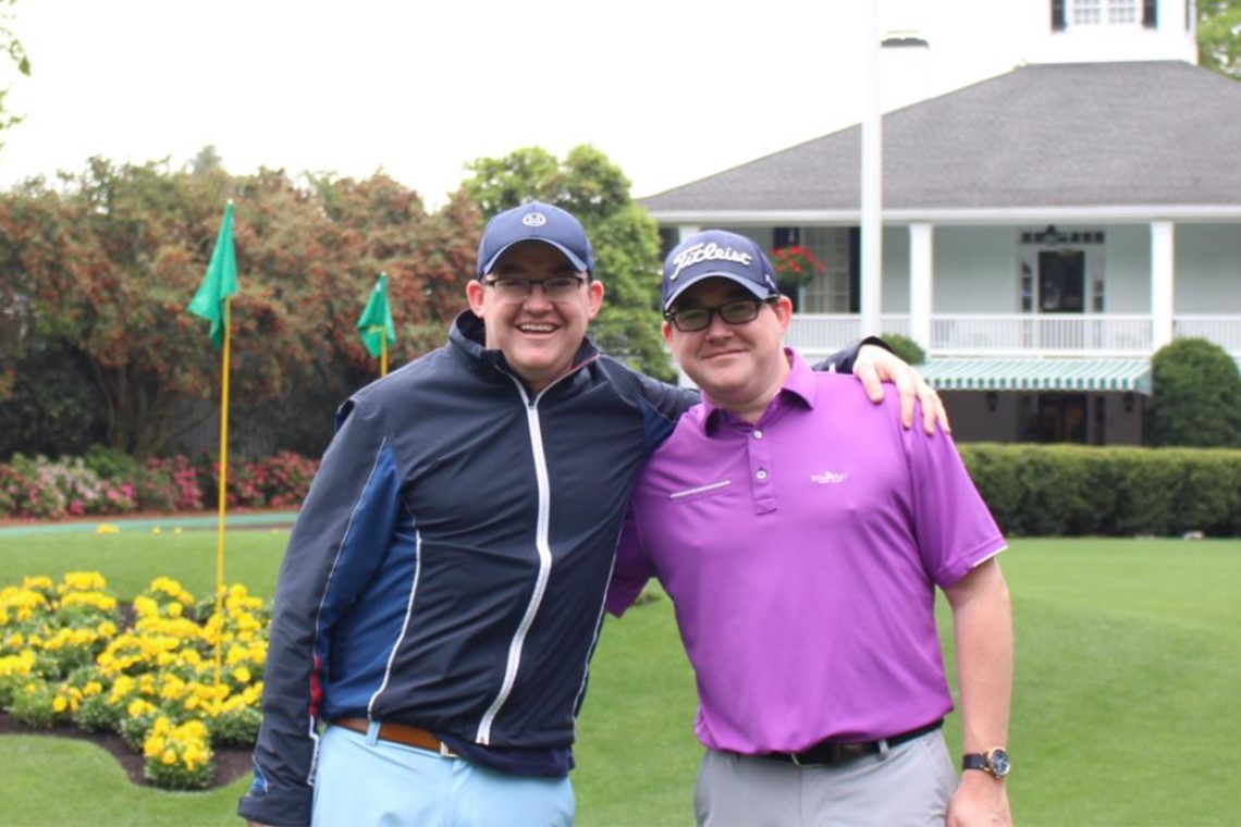 Tobin Twins Turn Passion for Golf into Mirrored Careers