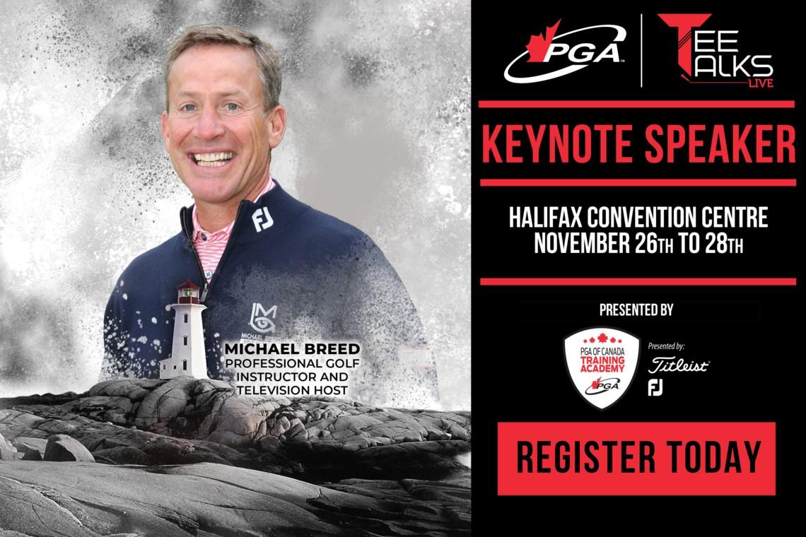 Michael Breed announced as #TeeTalksLive Keynote Speaker