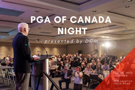 2020 PGA of Canada Night
