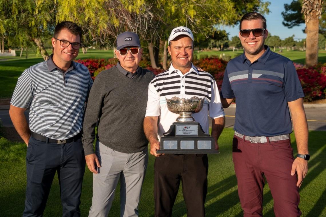 Burns Wins First National PGA Title