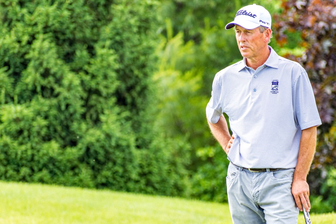 Jim Rutledge Leads After First Round of PGA Championship of Canada
