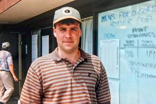 Ian Webb the consummate head golf professional