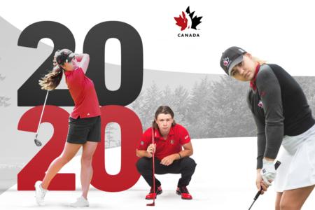 GOLF CANADA DÉVOILE L'ALIGNEMENT DES FORMATIONS NATIONALESAMATEUR ET JUNIOR POUR 2020