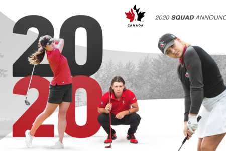 GOLF CANADA NAMES 2020 NATIONAL AMATEUR AND JUNIOR SQUADS