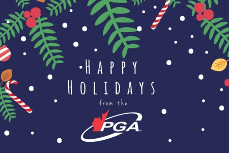 Happy Holidays from the PGA of Canada