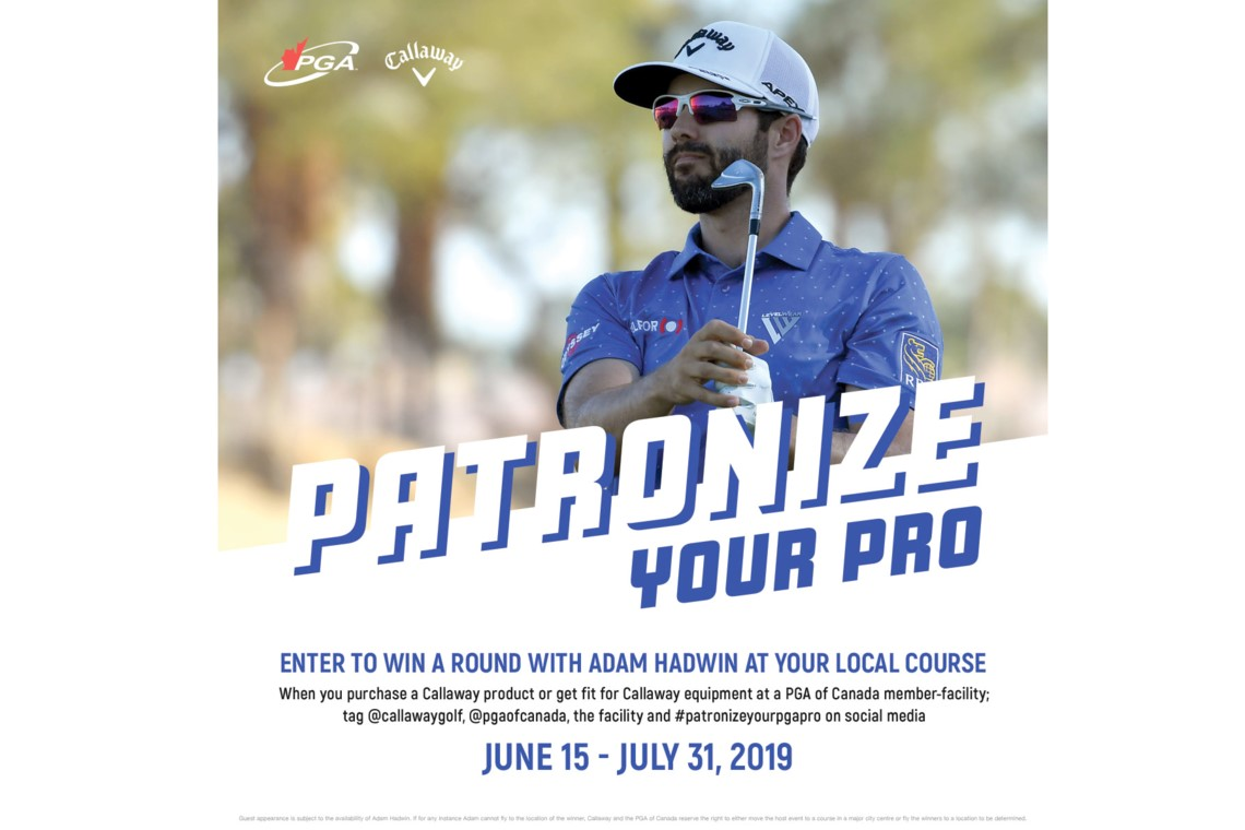 Patronize Your Pro is Back for 2019