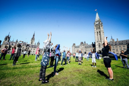CANADA'S GOLF INDUSTRY CELEBRATES NATIONAL GOLF DAY WITH NATION-WIDE CAMPAIGN LAUNCH ON PARLIAMENT HILL