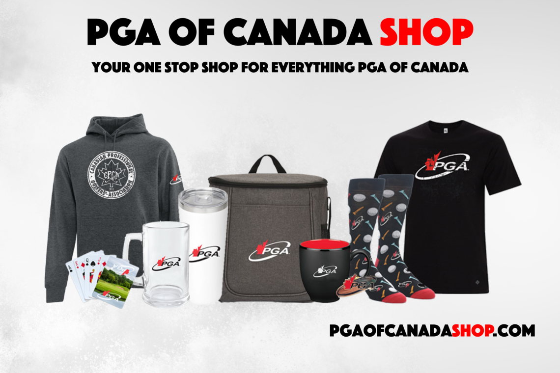 PGA of Canada is thrilled to launch its brand-new online shop