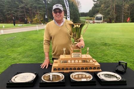Daniel Santerre's hat trick at the TaylorMade/adidas Quebec PGA Championships