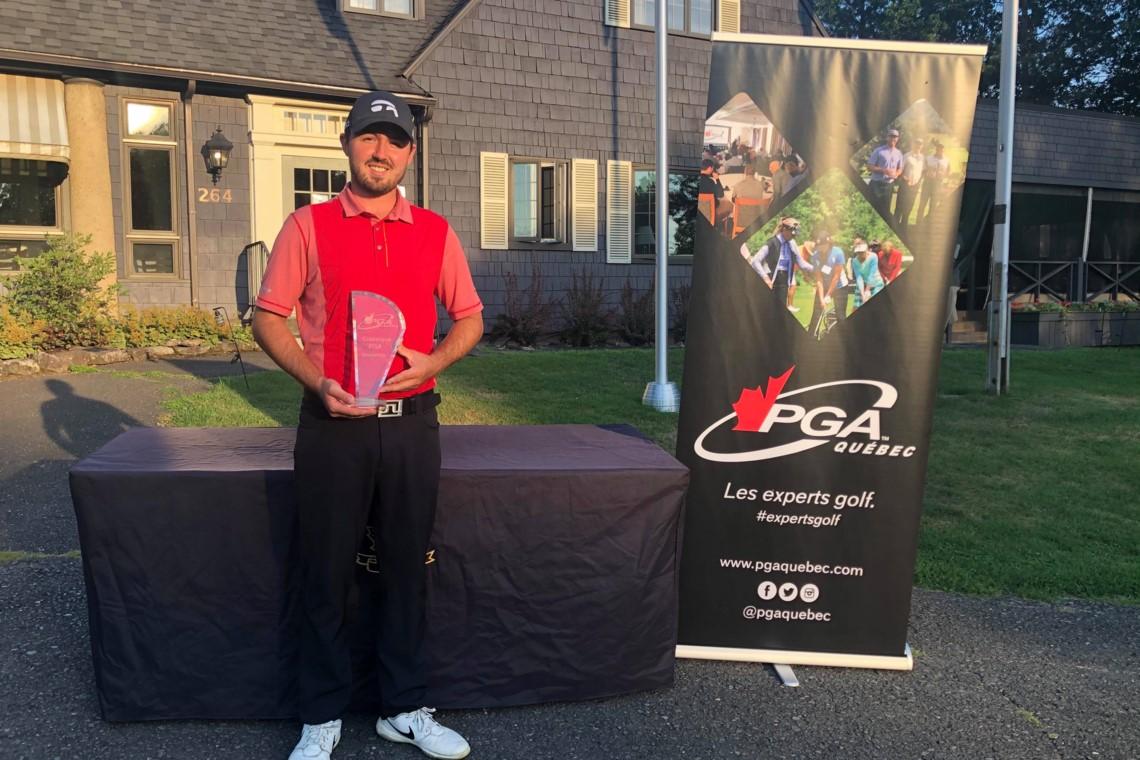 Pierre-Alexandre Bédard wins Knowlton PGA of Quebec Classic