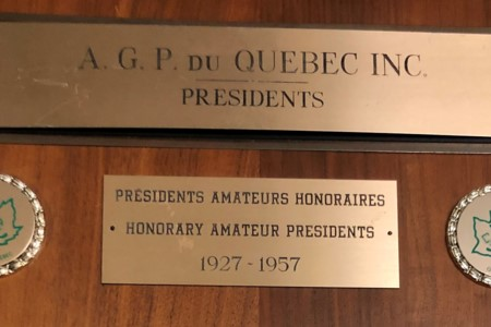 The Presidents of the PGA of Quebec