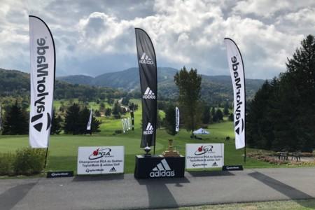 Yohann Benson triomphe au Championnat de la PGA du Québec TaylorMade et adidas Golf