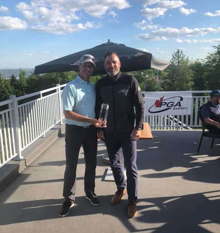 Martin Plante remporte la Série formation - Championnat Callaway dans une ronde serrée