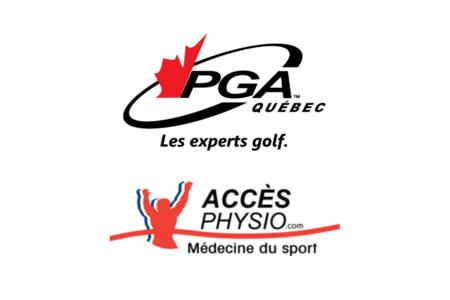 ACCÈS PHYSIO DEVIENT PARTENAIRE OFFICIEL DE LA PGA DU QUÉBEC
