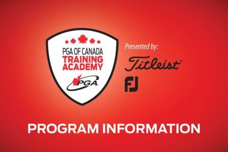 Académie de formation PGA du Canada présenté par Titleist et Foot Joy