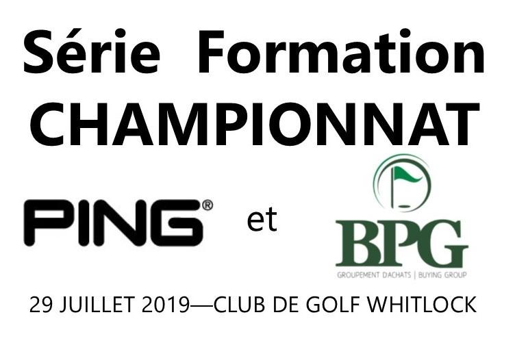 La PGA du Québec annonce un partenariat avec PING ET BPG