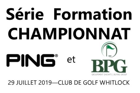 PGA of Quebec Announces Partnership with PING AND BPG