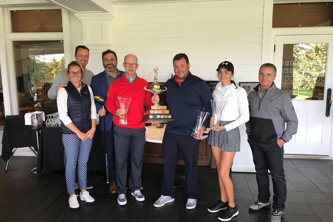 Le club de golf Rosemère remporte le Pro-Champion-ne présenté par Cobra PUMA Golf
