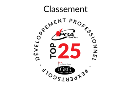 CLASSEMENT TOP 25 G and G GOLF