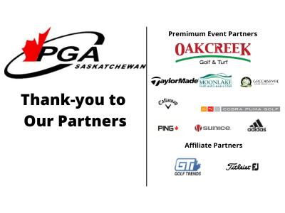 PGA Sask Thanks our 2021 Partners