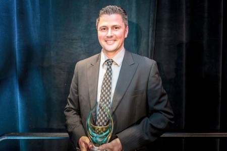 Jeff Chambers Receives National Award