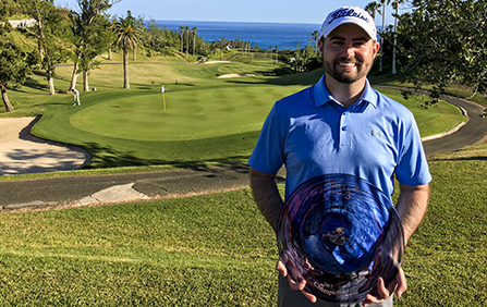 Chris Ward Wins GREY GOOSE World Par 3 Championship