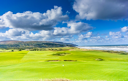 RBC PGA Scramble presented by The Lincoln Motor Company Underway at Cabot Links