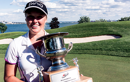 Brooke Henderson Defends Her PGA Women's Championship of Canada Title