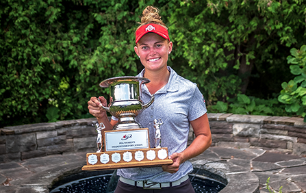 Jessica Porvasnik wins the DCM PGA Women's Championship of Canada